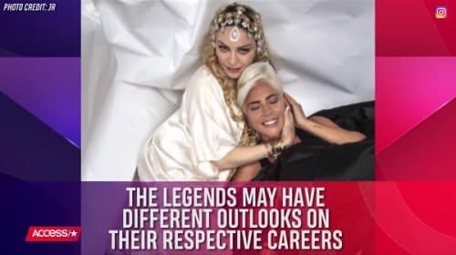 レディー・ガガとマドンナが、アカデミー賞授賞式のアフターパーティで仲良く2ショット!