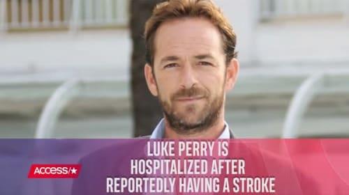 『ビバヒル』ディラン役ルーク・ペリーが脳卒中で緊急搬送