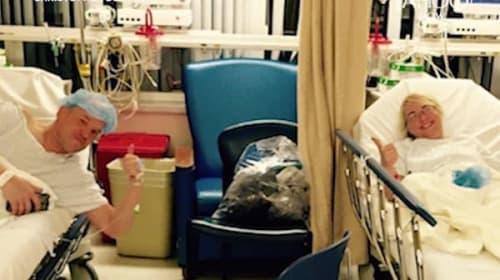 生体肝移植のドナーと患者として知り合い結婚した夫婦の心温まるエピソード