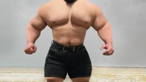 「イランの超人ハルク」としてインスタで話題の重量挙げ選手が、総合格闘技への参戦を表明!