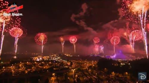 米ディズニーワールドで独立記念日に開催された花火ショーが超豪華!【映像】