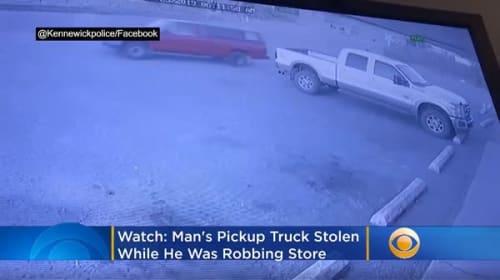 米国の窃盗犯が、犯行中に愛車を盗まれる→「車が盗まれた」と通報し自身の悪事が明るみに…