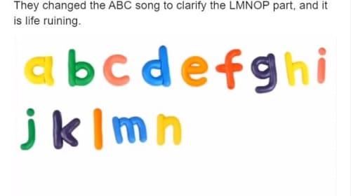 「ABCの歌」が改変され米国で批判!「人生を台無しにする」