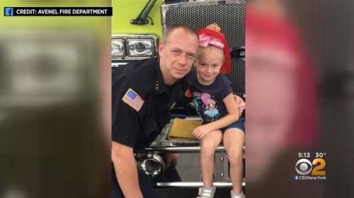6歳少女が、眠る家族を起こし火事から命を救う