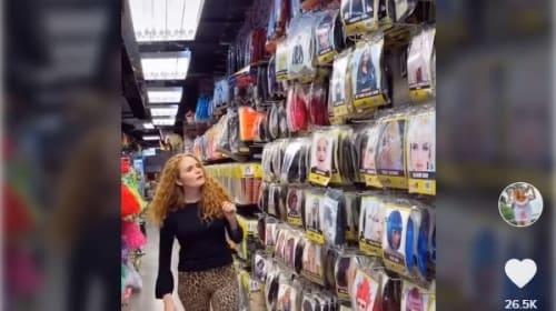 そっくり過ぎ!米女性が買い物中に自身の「ドッペルゲンガー」を発見【映像】