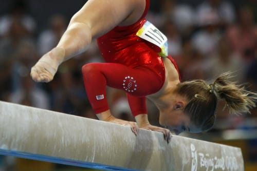 OnlyOnAOL: Olympic champ Shawn Johnson on what gymnasts