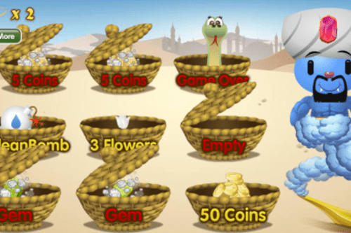 PetVille: Win bonus items and a wish in the new Genie Gems