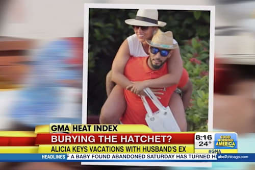 Alicia Keys takes St  Barts vacation with family     and