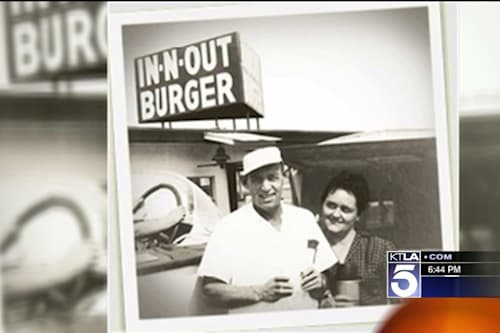 Reclusive In-N-Out heiress appears at grand opening of new