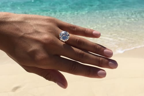 Daniel Tosh Wedding Ring.Rob Dyrdek S Proposal To Girlfriend Bryiana Was Quite The