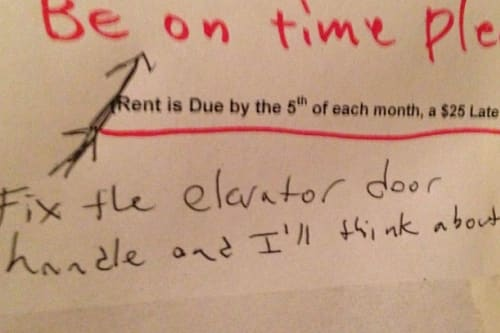 FedEx customer leaves hilarious note for deliveryman - AOL
