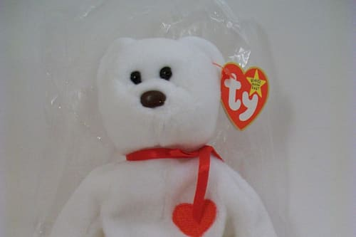 Misprint on Valentino Beanie Baby tag could fetch up to $25,000