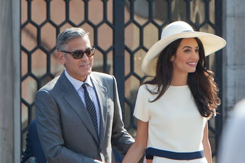George and Amal Clooney 'have to pay attention' to 'security issues