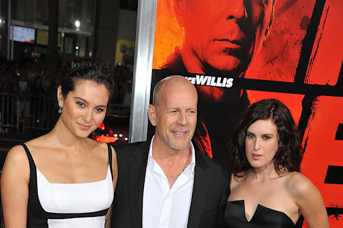 All 5 of Bruce Willis' daughters, from age 4 to 30, spent