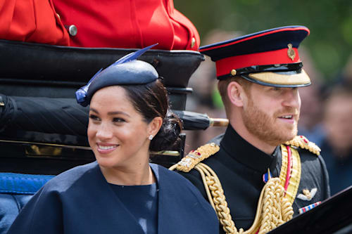Concerning video of Prince Harry 'scolding' Meghan Markle at