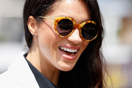 8f80b3fb1d74 Meghan Markle's favorite sunglasses are back in stock - AOL Entertainment