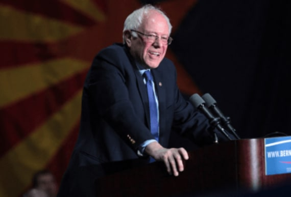 "Bernie Sanders says ""a lot of people in the country would be delighted to pay more in"