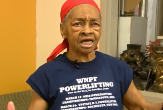 This renowned 82-year-old bodybuilder decimates burglar with a table, a broomstick and