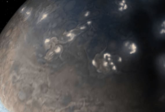 "Scientists witness""energetic eruption"" under Jupiter's clouds for the first time ever"