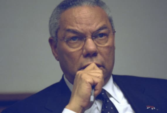 "Colin Powell wants Republicans to ""get a grip on itself"" and stop cleaning up Trump's"