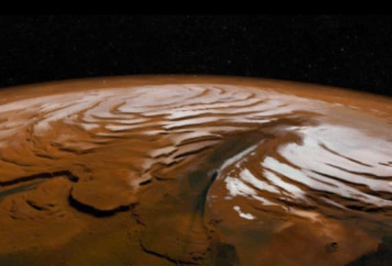 This is what summer on the Red Planet looks like