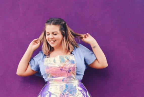 "Instagram model recreates iconic celebrity photos in honor of ""mid-size"" women"