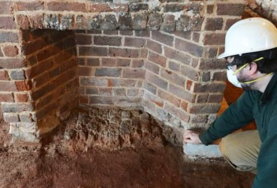Concealed Passage In One Of The Founding Fathers' Homes Leads Investigators To A
