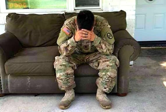 Hero Soldier Returns From Service To Find His Home Out Of Sorts