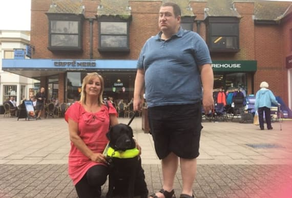 A Blind Man Strapped A GoPro To His Service Dog To Prove A Point To The World