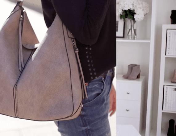 369354e67499 Our greige (hobo) is the new black (bag) · Joyus. lifestyle