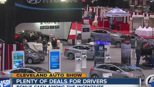 Top Cleveland Auto Show Incentives AOLcom - Cleveland car show