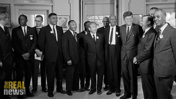 discuss jfk and the civil rights