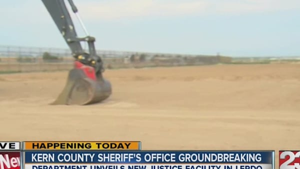 Kern County Sheriff's Office Breaks Ground on New Lerdo