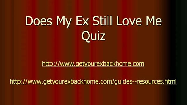 Does My Ex Still Love Me Quiz | AOL com