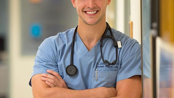 Meet the handsome New York doctor who has become an Instagra