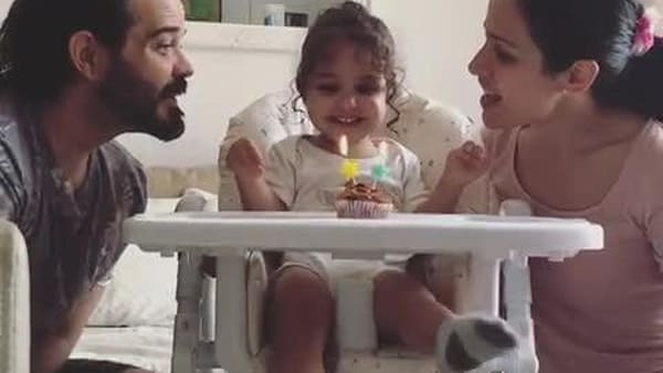 Little Girl Overjoyed at Impromptu Birthday Celebrations By Parents