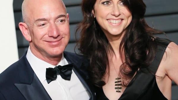 Mackenzie Bezos pledges half of her $37 billion fortune to charity | AOL.com