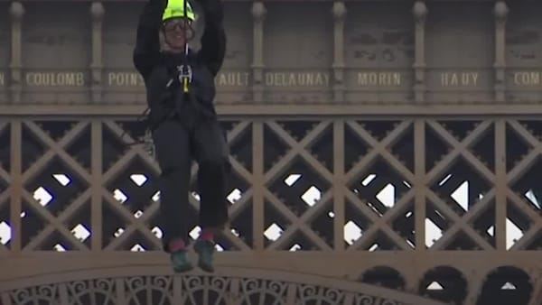 Zipline off of the Eiffel Tower | AOL.com