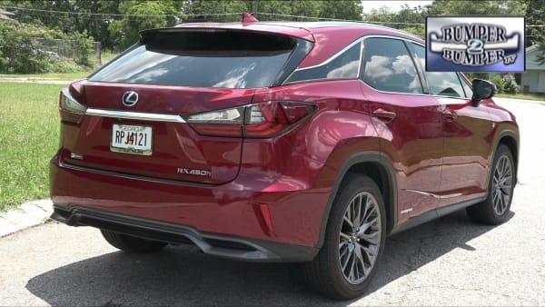 The latest version of the midsize luxury SUV, Lexus RX !!