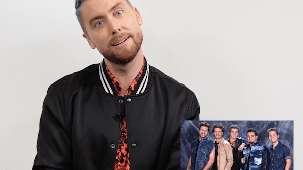 NSYNC's Lance Bass reacts to his most iconic looks