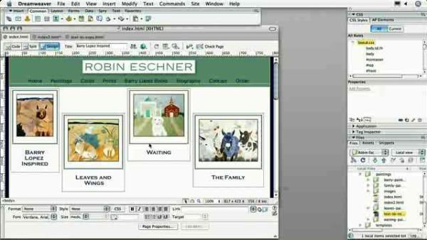 Adobe Dreamweaver CS3 - How to Add Borders with CSS   AOL.com