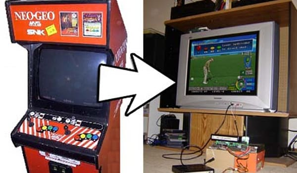 How To: Consolize an arcade game