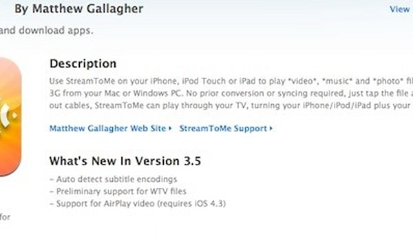 iOS 4 3-ready apps begin turning up in the App Store