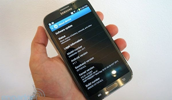 Samsung releases Galaxy Note II source code, gives modders a