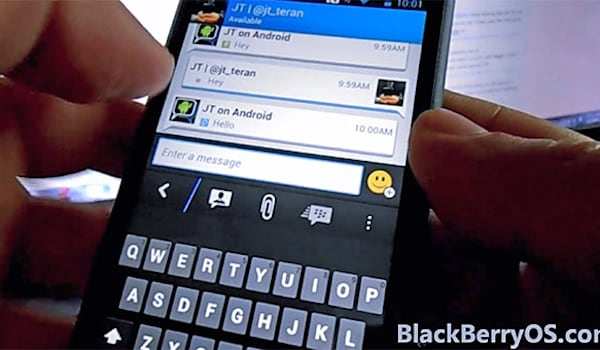 BlackBerry Messenger app arriving on Android and iOS this weekend
