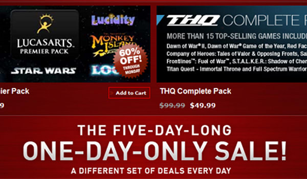 Steam's Black Friday deals will probably put it out of business