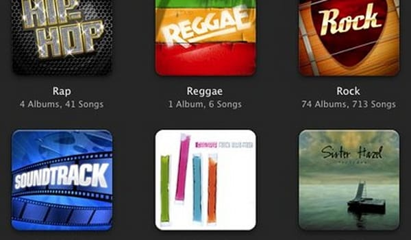 Flickr Find: iTunes genre icons