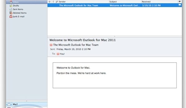 Microsoft Office 2011 for Mac screenshots leaked