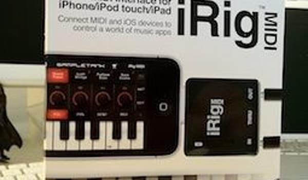 iRig MIDI and SampleTank for iOS review (Updated)