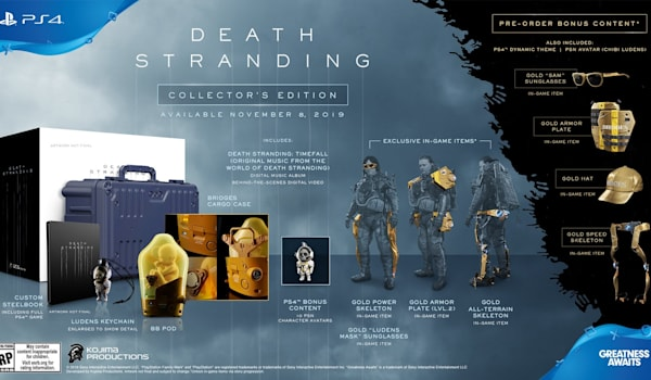 Death Stranding' special edition comes with life-sized baby in a pod